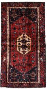 Hamadan Χαλι 100X193 Ανατολής Χειροποιητο Σκούρο Κόκκινο (Μαλλί, Περσικά/Ιρανικά)