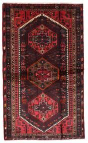 Hamadan Χαλι 110X185 Ανατολής Χειροποιητο Σκούρο Κόκκινο/Σκούρο Καφέ (Μαλλί, Περσικά/Ιρανικά)