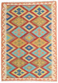 Κιλίμ Afghan Old Style Χαλι 104X173 Ανατολής Χειροποίητη Ύφανση Σκούρο Μπεζ/Kόκκινα (Μαλλί, Αφγανικά)