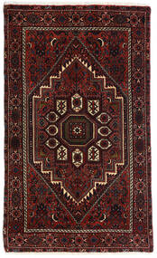 Gholtogh Χαλι 80X131 Ανατολής Χειροποιητο Σκούρο Καφέ/Σκούρο Κόκκινο (Μαλλί, Περσικά/Ιρανικά)