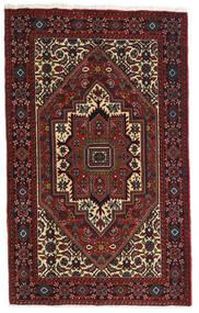 Gholtogh Χαλι 81X129 Ανατολής Χειροποιητο Σκούρο Κόκκινο/Σκούρο Καφέ (Μαλλί, Περσικά/Ιρανικά)