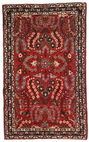 Lillian Χαλι 80X128 Ανατολής Χειροποιητο Σκούρο Καφέ/Σκούρο Κόκκινο (Μαλλί, Περσικά/Ιρανικά)