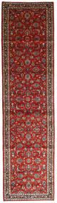 Keshan Χαλι 105X402 Ανατολής Χειροποιητο Χαλι Διαδρομοσ Σκούρο Κόκκινο/Σκούρο Καφέ (Μαλλί, Περσικά/Ιρανικά)