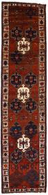 Shiraz Χαλι 118X480 Ανατολής Χειροποιητο Χαλι Διαδρομοσ Σκούρο Κόκκινο (Μαλλί, Περσικά/Ιρανικά)
