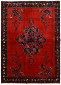 Afshar Χαλι 166X228 Ανατολής Χειροποιητο Σκούρο Κόκκινο/Στο Χρώμα Της Σκουριάς (Μαλλί, Περσικά/Ιρανικά)