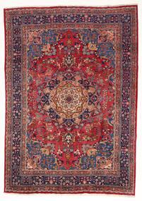 Mashad Χαλι 197X280 Ανατολής Χειροποιητο Σκούρο Κόκκινο/Σκούρο Μωβ (Μαλλί, Περσικά/Ιρανικά)
