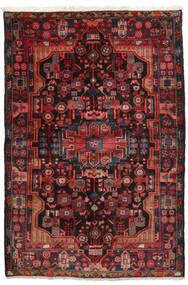 Nahavand Χαλι 152X245 Ανατολής Χειροποιητο Σκούρο Κόκκινο/Μαύρα (Μαλλί, Περσικά/Ιρανικά)