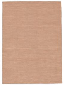 Κιλίμ Loom - Dusty Rose Χαλι 160X230 Σύγχρονα Χειροποίητη Ύφανση Kόκκινα/Ανοιχτό Ροζ (Μαλλί, Ινδικά)