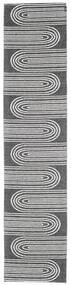 Εξωτερικούς Χαλιά Turn - Μαύρα/Υπόλευκο Χαλι 70X300 Σύγχρονα Χαλι Διαδρομοσ Σκούρο Γκρι/Ανοιχτό Γκρι ( Σουηδία)