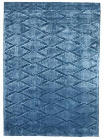 Βισκόζη Μοντέρνα Χαλι 172X241 Σύγχρονα Χειροποιητο Σκούρο Μπλε/Μπλε ( Ινδικά)