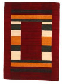Loribaf Loom Χαλι 168X237 Σύγχρονα Χειροποιητο Σκούρο Κόκκινο/Kόκκινα (Μαλλί, Ινδικά)