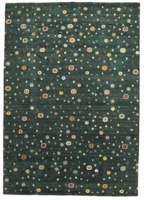 Loribaf Loom Χαλι 241X345 Σύγχρονα Χειροποιητο Σκούρο Πράσινο (Μαλλί, Ινδικά)